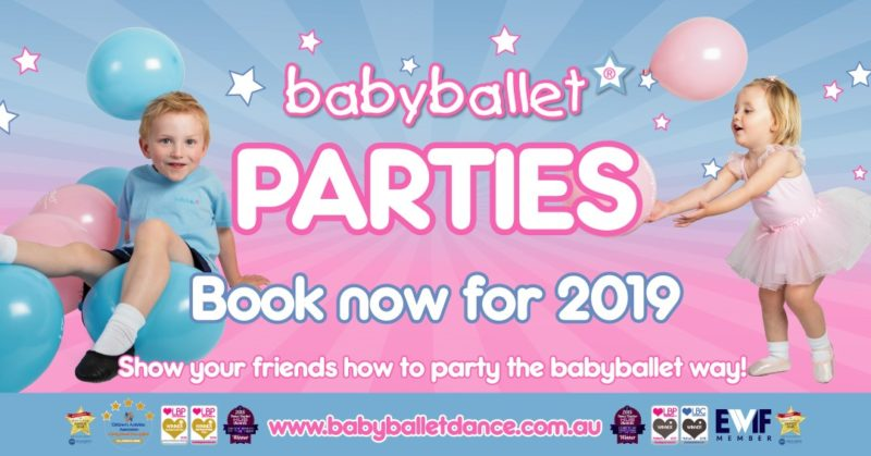 babyballet birthday parties